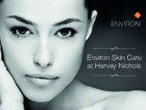 Get radiant, glowing skin that makes you the centre of attention with Environ Skincare at Harvey Nichols. Enjoy a deeply hydrating facial to restore your skin's natural lustre and get professional advice from highly-trained beauty therapists during your skin consultation. Leave feeling beautified and renewed, and learn the best techniques to keep your skin healthy and luminous.  * £24 (regular pri