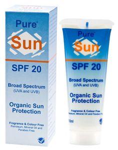 REITZER PURE SUN SPF 20 CREAM 100ML Rosacea, Broad Spectrum, Sun Protection, Fragrance, Personal Care, Pure Products, Cream, Creme Caramel, Self Care