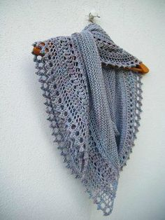 sooo pretty Henslowe shawl châle tricot knit 022