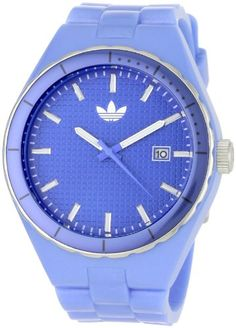 Adidas Women`s ADH2099 Cambridge 3-Hand Analog Blue Watch $49.99