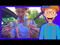 Police Cars for Children with Blippi | Educational Videos for Kids - YouTube