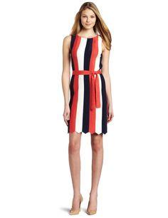 Tina Turk Women's Thrulow Stripes Dress