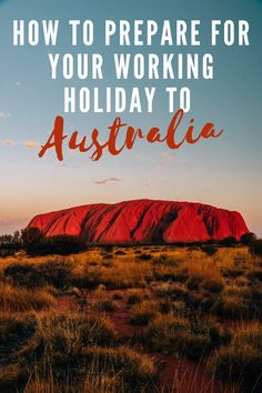 Working Holiday Visa, Working Holidays, Australia Travel Guide, Visit Australia, Opening A Bank Account, Job Opening, Travel Advice, Travel Tips, Travel Guides