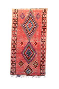 Types Of Rugs, Pink Rug, Cool Rugs, Vintage Rugs, Bohemian Rug, Hand Weaving, Carpet, Handmade, Boho Chic