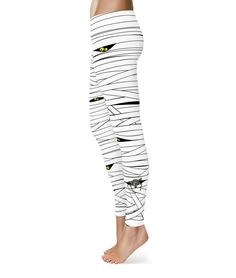 Any orders after October 16th are not guaranteed to be delivered by the 31st -Halloween Mummy Leggings