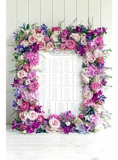 Top Table Plans and Pretty Place Names