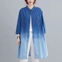 Shirt Blouses, Shirts, Duster Coat, Jackets, Stuff To Buy, Fashion, Down Jackets, Moda, Fashion Styles
