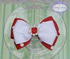 Christmas hair bow boutique Christmas hair clip by buttercupsbows, $6.49