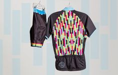 Coeur Mix Tape Women's Cycling Jersey and Shorts http://www.bicycling.com/bikes-gear/tested/13-womens-kits-that-make-you-want-to-ride-asap/slide/11