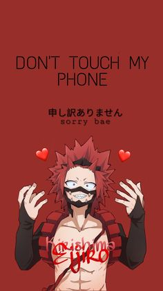 Anime Lock Screen Wallpapers, Dont Touch My Phone Wallpapers, Anime Backgrounds Wallpapers, Animes Wallpapers, Wallpaper W, Anime Wallpaper Phone, Wallpaper Iphone Cute, My Hero Academia Episodes, My Hero Academia Manga