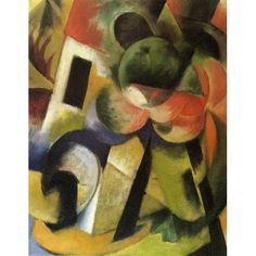 Small Composition II by Franz Marc oil painting art gallery Franz Marc, Kandinsky, Edvard Munch, Koi Art, Canvas Art, Canvas Prints, Painting Prints, Painting Art, Les Oeuvres