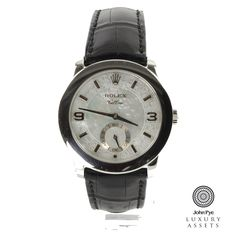 #Rolex #Cellini Gents Stainless Steel Manual #Watch