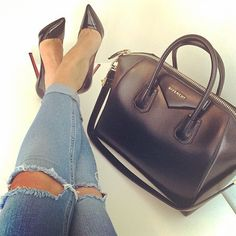 Love the shoes.... love the purse