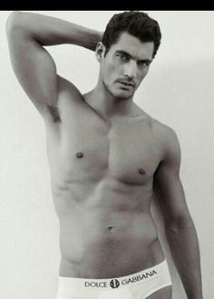 David Gandy. Because less is more x