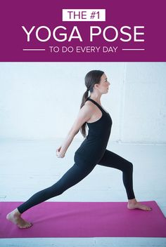Do this one yoga pose a day for a happier and healthier new year.