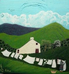 Valériane LeBlond is a french artist living in Wales. She paints on wood mainly and crea...
