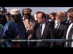 Politique France Arrivée de François Hollande à Tombouctou - http://pouvoirpolitique.com/arrivee-de-francois-hollande-a-tombouctou/