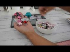 Here is a tutorial using paper to make six cute mini paper fan embellishments and using the envelope punchboard to make four mini envelopes with pape. Paper Fans, Paper Paper, Paper Crafts, Envelope Punch Board, Envelope Liners, Papier Diy, Pocket Envelopes, Baby Fabric, Book Markers