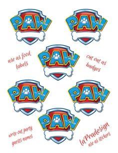 Resultado de imagen de paw patrol invitation templates
