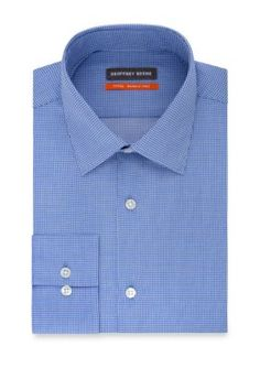 Geoffrey Beene Men's Fitted Dress Shirt - Emperor Blue - 15.5 34/35