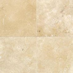 Daltile Travertine Durango 12 in. x 12 in. Natural Stone Floor and Wall Tile (10 sq. ft. / case)-T71412121U at The Home Depot