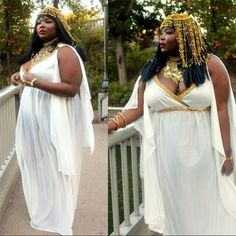 Plus Size Halloween Costumes Done Right!: Cleopatra Costume