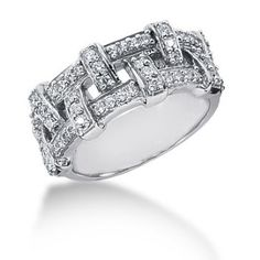 Affordable jewelry and accessories shipped to your doorstep. Jewelry marketplace that allows jewelry makers and retailers to publish their products online. Best Diamond Rings, Beautiful Diamond Rings, Brilliant Diamond, Anniversary Crafts, How To Make Rings, Diamond Anniversary Rings, Affordable Jewelry, White Gold, Wedding Rings