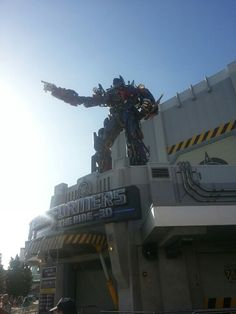 Transformers the ride 3D Universal Studios Orlando!