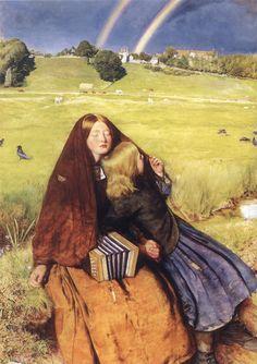 The Blind Girl, 1856. John Everett Millais (1829-1896)