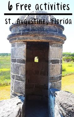 The only way a vacation to St. Augustine, Florida can get any better is by adding these FREE activities to your family's itinerary.