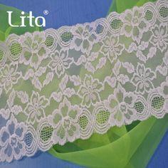 14cm width newest nylon lace trim/fabric lace for lace underwear
