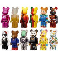 Bearbrick Series 25 Figure - 1 Blind Box BEARBRK25MUL - $7.00