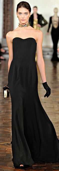 Ralph Lauren--If I could ever see myself in an evening gown, this might be the one.