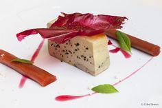 Foie Gras Rhubarbe