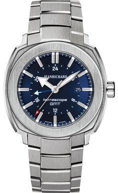 Jean Richard Terrascope Blue Dial GMT Stainless Steel Bracelet #JeanRichard #TerraScope #WatchConnection #Watches #Professional #Ican #DailyWatch #WatchOfTheDay #Inspiration #classy #wristwatch #RealSmartWatch #PhotoOfTheDay #Love #instagood #me #luxury #success #MenWithStyle #WatchPorn #MensFashion #MensWatch #CostaMesa #OrangeCountyCa