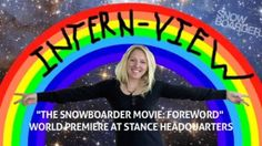 Internview – The SNOWBOARDER Movie: Foreword Premiere