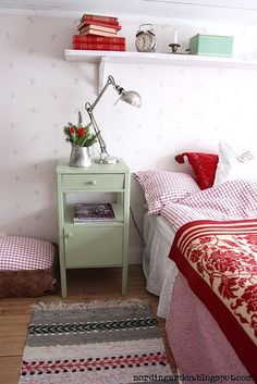 I love this nightstand! I would change the color though.