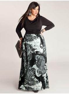 Polina Plus Size Maxi Dress by IGIGI
