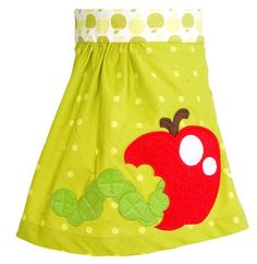 Adorable apple skirt