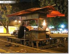 Warung kucing, Yogyakarta. A warung (old spelling waroeng) is a type of small family-owned business — often a casual shop, usually café — in Indonesia and Malaysia. A warung is an essential part of daily life in Indonesia.
