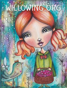 Spring Beginnings - Art Print by willowing on Etsy