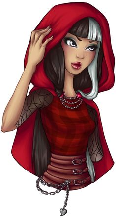 ever after high cerise hood (i didnt make this)