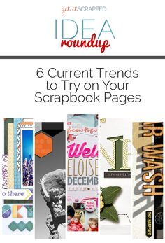 Do you like finding ways to incorporate the latest fashion, decor and graphic design trends in your scrapbook pages? Then check out these six trends and our ideas for using them to try out in your next scrapbook page. Scrapbook Ideas for Using Geometric Fonts in Your Titles Geometric-styled fonts are trendy, but they aren't …