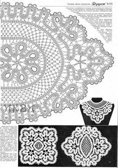 Bruges Lace Crochet Free Patterns ~ Dancox for Filet Crochet, Crochet Lace Edging, Freeform Crochet, Crochet Chart, Crochet Basics, Crochet Squares, Irish Crochet, Crochet Doilies, Bruges Lace