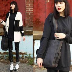 Holy gorgeous @janedean  #black #handbag #tite #myscaramanga #leather #fblogger #fashion #fallfashion #style #goth #inspo #bangs #blackonblack #blogger #prettygirl #lovely #potd