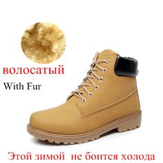 8de04635079a8 Suede leather man boot Winter men boots ankle shoes warm snow velvet fur  work martin cowboy motorcycle male shoe lace up 602-in Snow Boots from Shoes  on ...