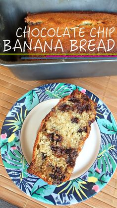 Five Star Chocolate Chip Banana Bread Recipe