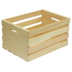 Crates & Pallet Crates and Pallet 18 in. Large Wood – The Home Depot - Wooden Crates Bookshelf