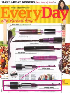 @rachaelraymag rounded up their fave purple lip shades and featured our Ultra Color Lipstick in Vamp!.
