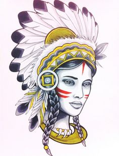 native tattoo i love it, proud to be native american now please cover my body with tattoos :)